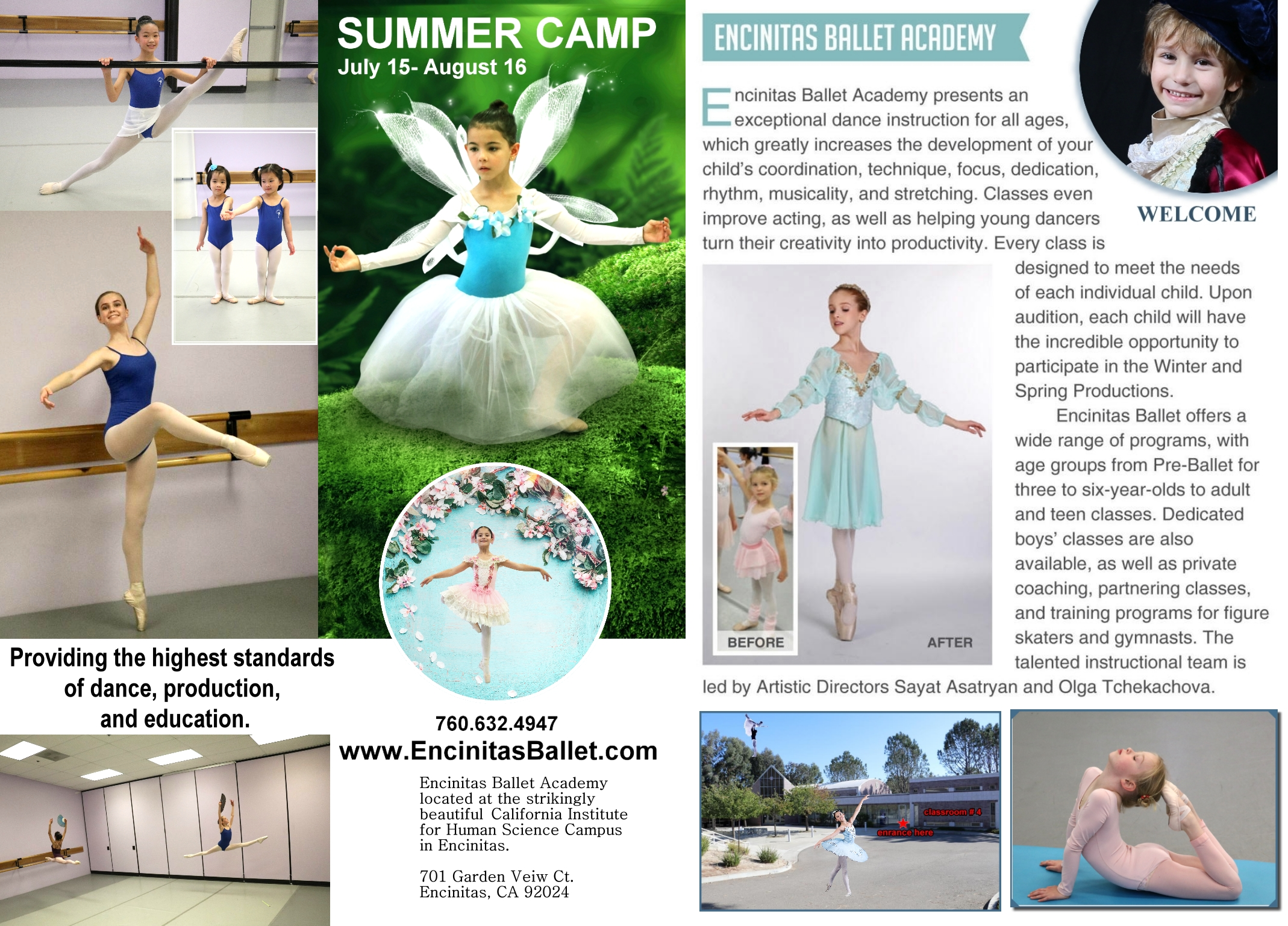 Encinitas Ballet S Summer Camp Carlsbad Chamber Of Commerce