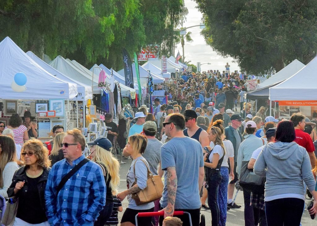 Our Carlsbad Village Street Faire celebrates 45 years!